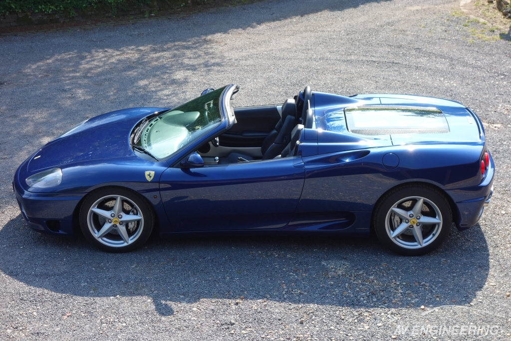 Ferrari 360 Manual Spider Blue TDF AV Engineering